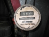 Recycled gas pump gauge for homemade biodiesel