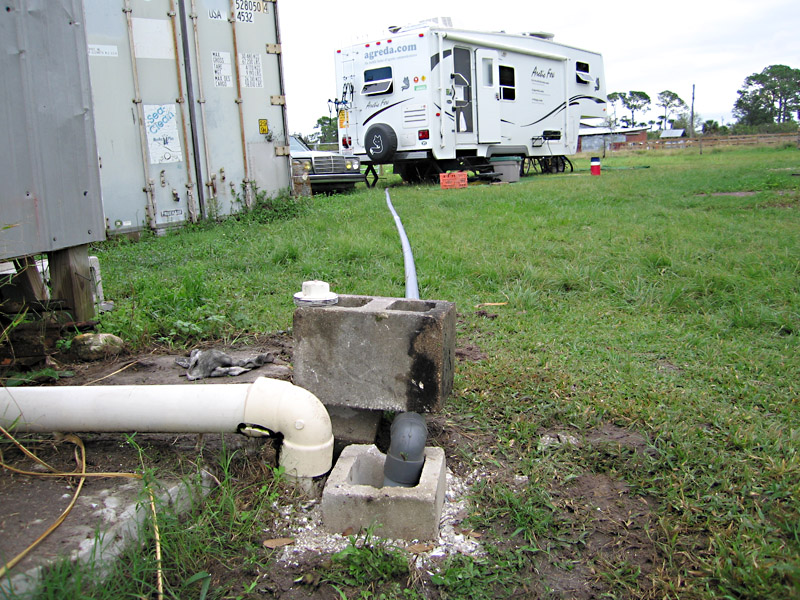 DIY RV Dump Station