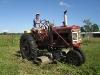 08. Rene rides the Farmall 230