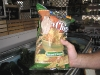 03. Don\'t panic. It\'s organic! Tree frog on the chips.