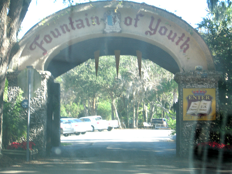 FtnYouth04.JPGThe Gates to The Fountain of Youth St. Augustine, FL