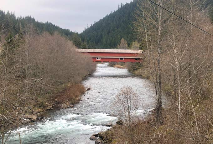 Office Bridge Westfir Oregon