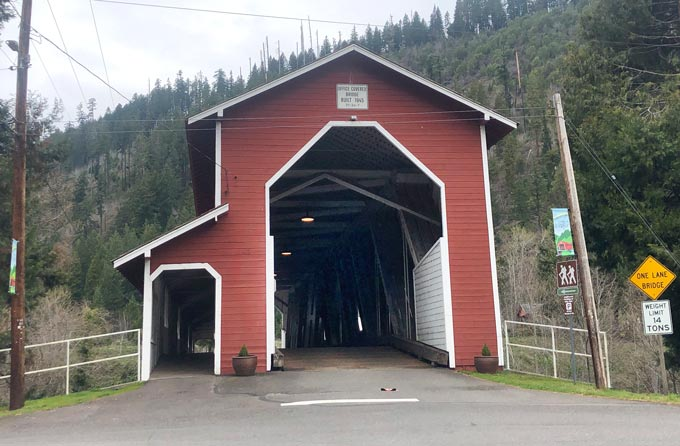 Office Covered Bridge Westfir