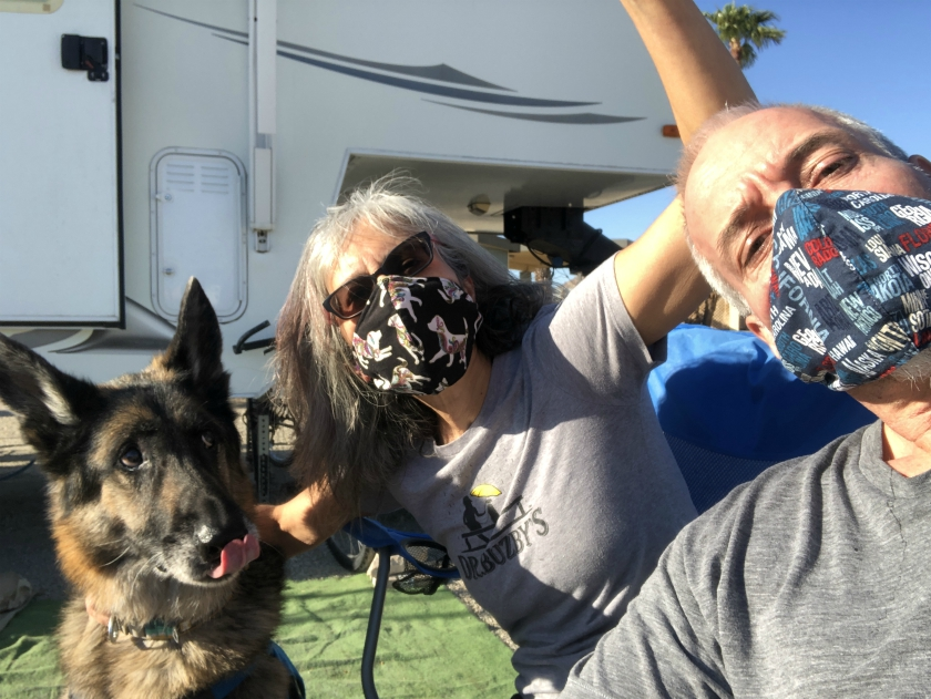 Fountain of Youth COVID Mask Party