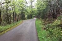 Westfir Oregon Rural Road