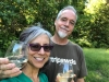 Jim and Rene Toast Dunham Cellars
