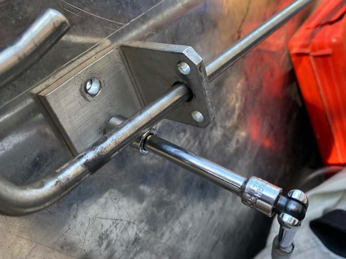 repair truck toolbox