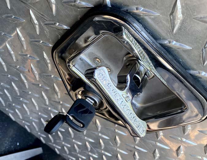 repair truck toolbox lock