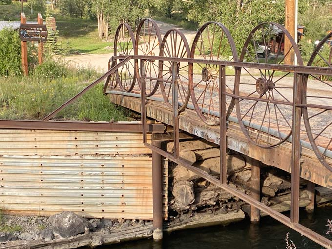 Railroad Car Bridge