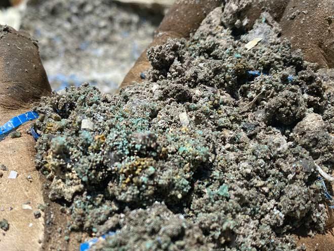 mining ore