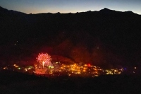 Lake City Fireworks from Station Eleven