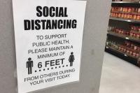 Walmart COVID-19 Shopping Notice