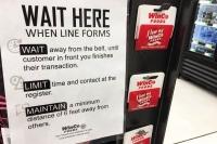 Winco COVID-19 Shopping Notice