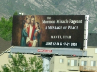 Resistance is Futile at the Salt Lake City Utah Morman Church Pageant