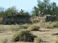 Military Maneuvers on the Slabs near Niland, CA