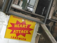Have a Heart Attack Sandwich at Pop's Pit