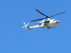 Military Helpicopter Maneuvers Slab City, CA