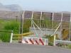 Feeble Big Bend Texas Rio Grande Mexican Border Blockade
