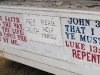 Self Serve Preaching at County Fair in Brainerd, MN