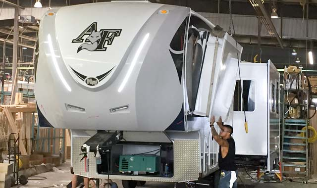 Northwood Arctic Fox RV with new slide-outs