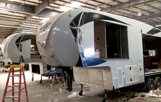 Northwood Arctic Fox RV before slide-outs