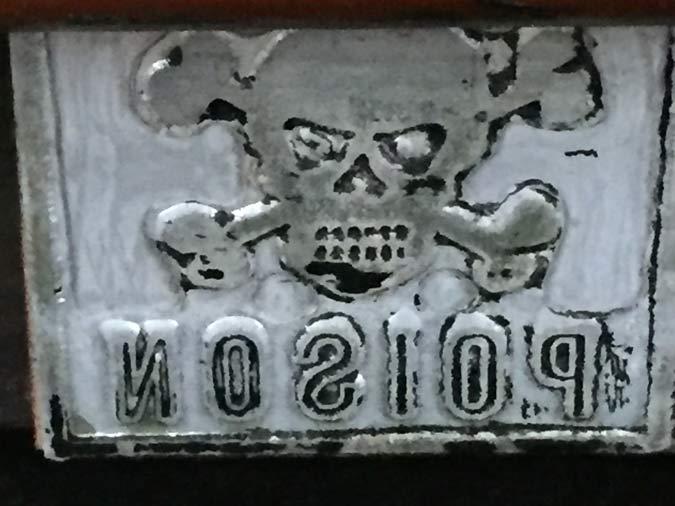 Old Printing Plate