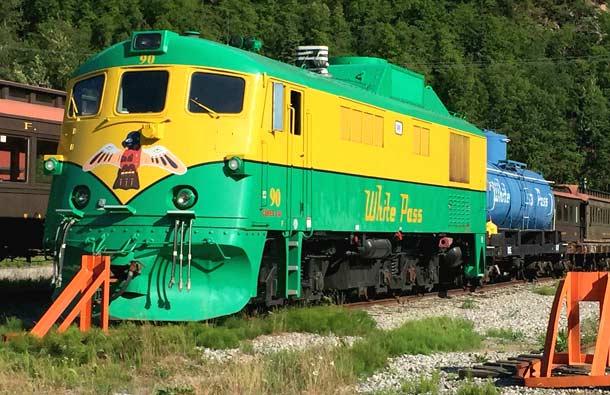 White Pass and Yukon Route Historic Train Depot, Skagway Alaska