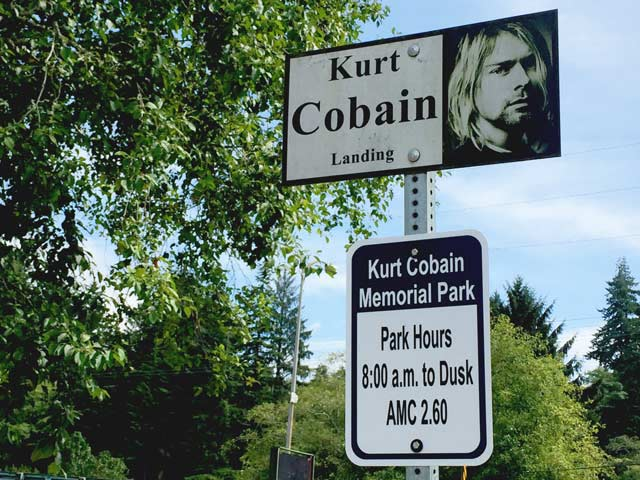 Kurt Cobain Landing