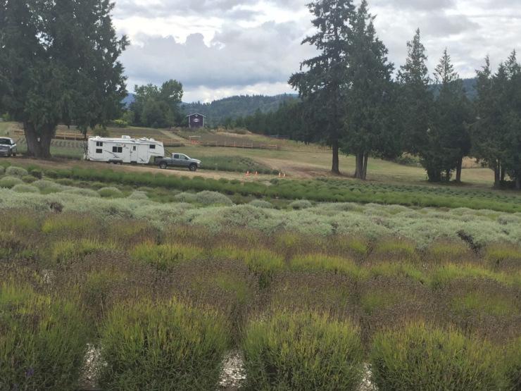 Harvest Hosts overnight RV parking