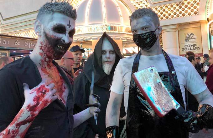 Fremont Street Undead Halloween