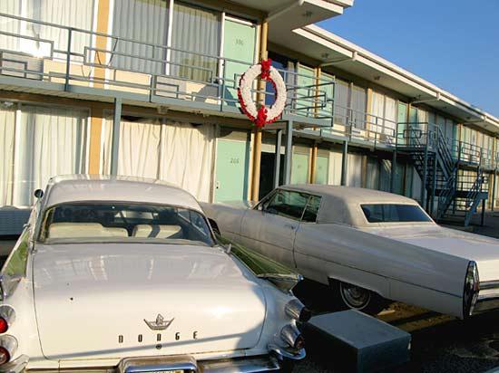 Martin Luther King. Jr, Memorial at Lorraine Motel Memphis, TN