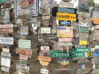 The Signpost Forest in Watson Lake, BC