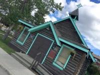 The Old Log Church, Whitehorse, Yukon