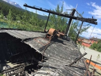 Historic River Boat Remains in Carcross, Yukon