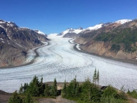 Salmon Glacier Summit near Hyder, Alaska