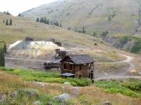 Animas Forks Gohst Town Cinamon Pass Alpine Loop Colorado