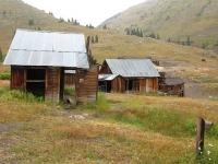 Animas Forks Ghost Town Cinnamon Pass Alpine Loop Colorado