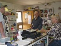 Kay Pazzini and Stillwell Customers