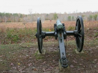 Civil War Canon at Bloody Angle Battlefield Fredericksburg, VA