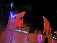 Dancetronauts Fremont Street Las Vegas Halloween 2013