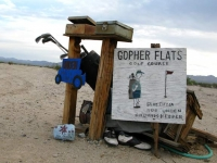 Gopher Flats Slab City Golf Course