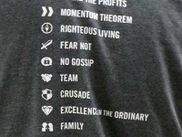 Dave Ramsey Core Principles T-shirt
