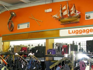 Unusual Finds at Unclaimed Baggage Center Scottsboro, AL