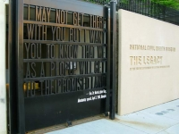 National Civil Rights Museum MLK Jr. Quote