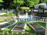 Elvis Presley Grave at Graceland Meditation Garden
