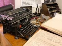 Hyder, Alaska History Museum Underwood Typewriter