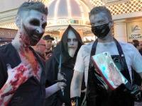 Fremont Street Las Vegas Halloween