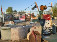 The Stage Door in Slab City, USA
