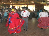 Mexican Hat Dance at Luckenbach festival