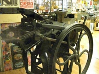 Old Letterpress at Hatch Show Print